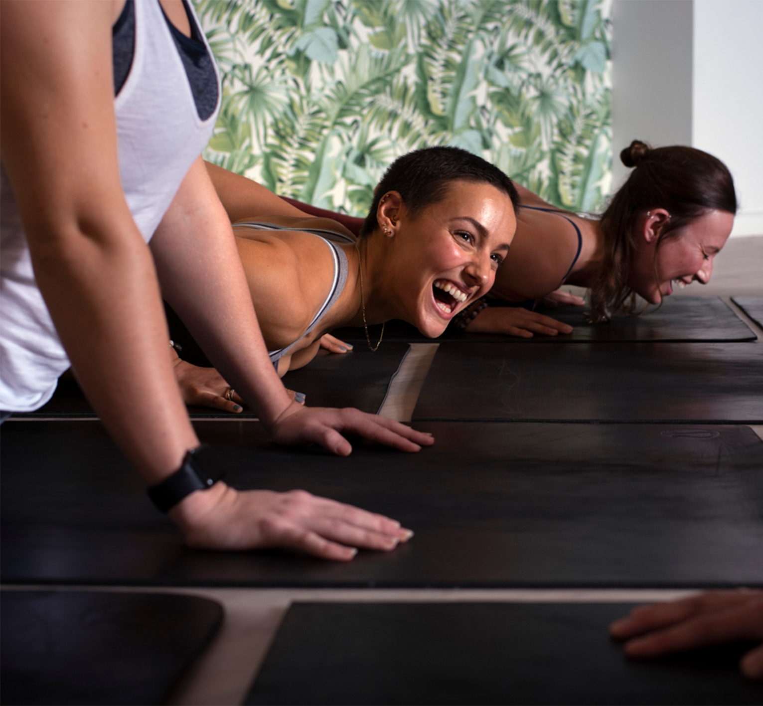 Beginner Yoga Class Frame