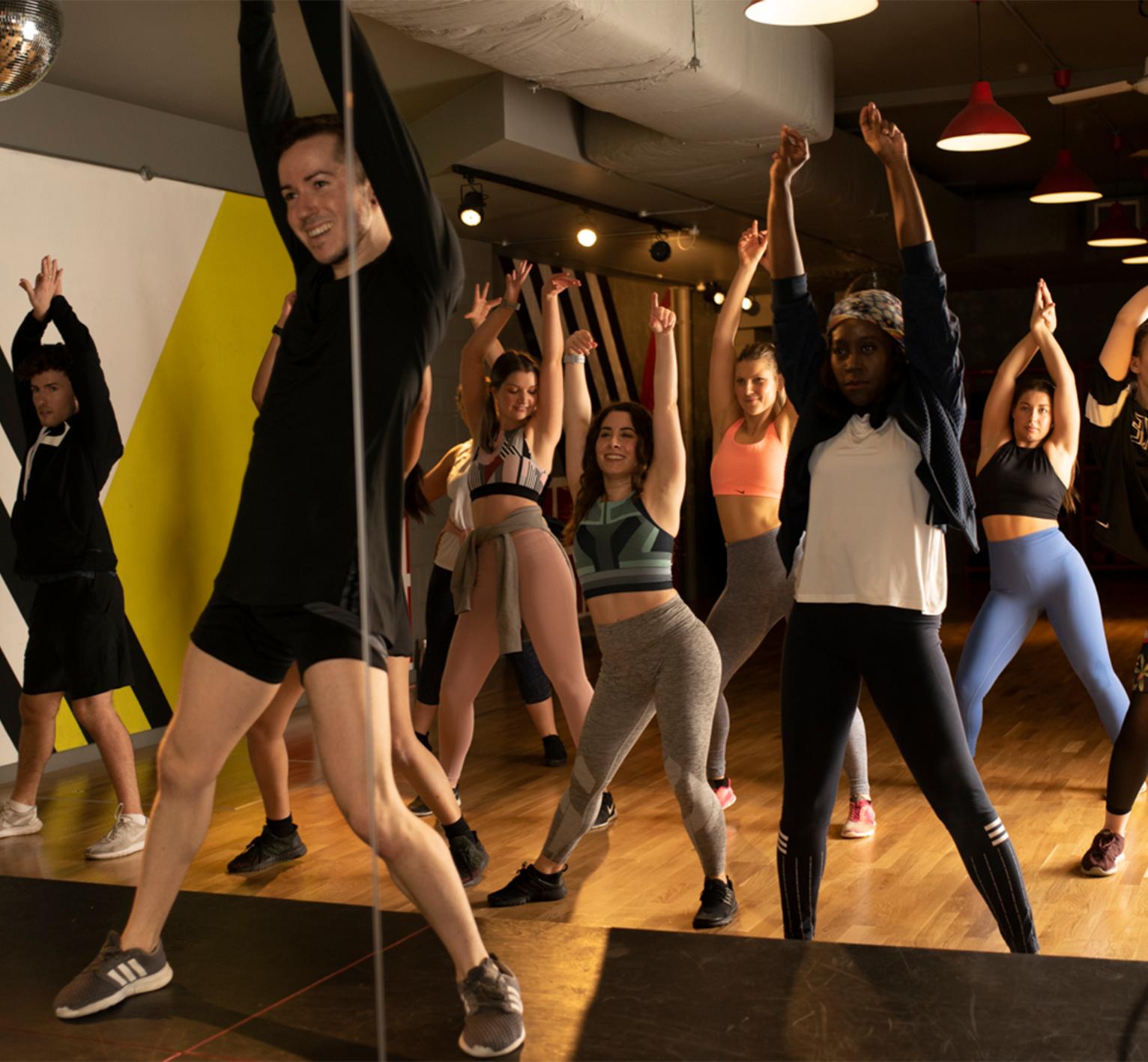 Beginner Music Video Class Dance Fitness Frame
