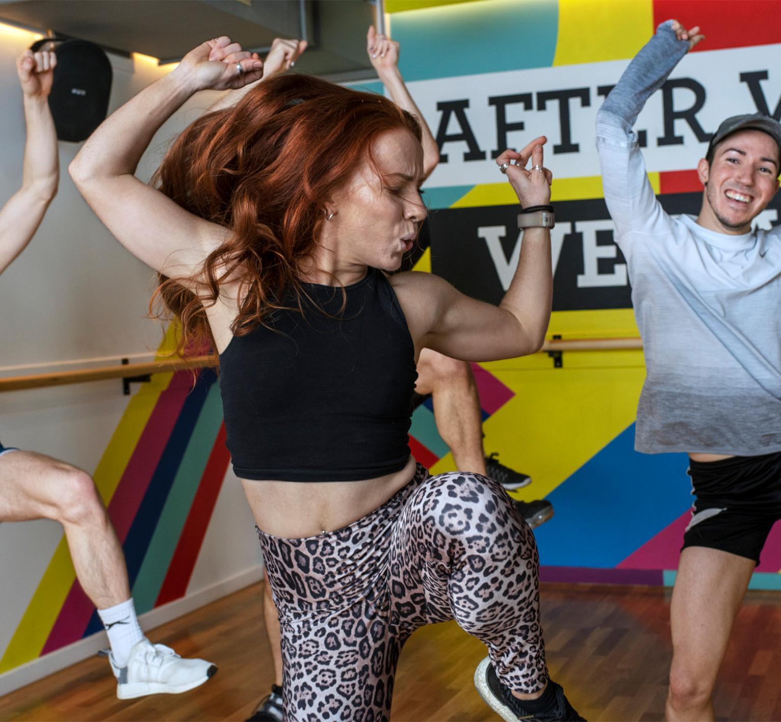 Dance Cardio Fitness Classes Frame