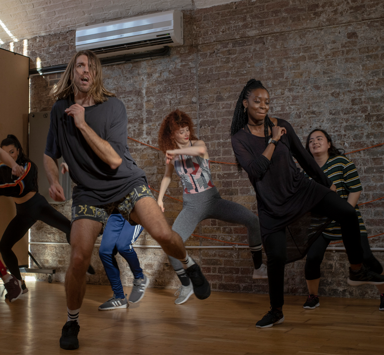 Music Video Dance Fitness Classes Frame