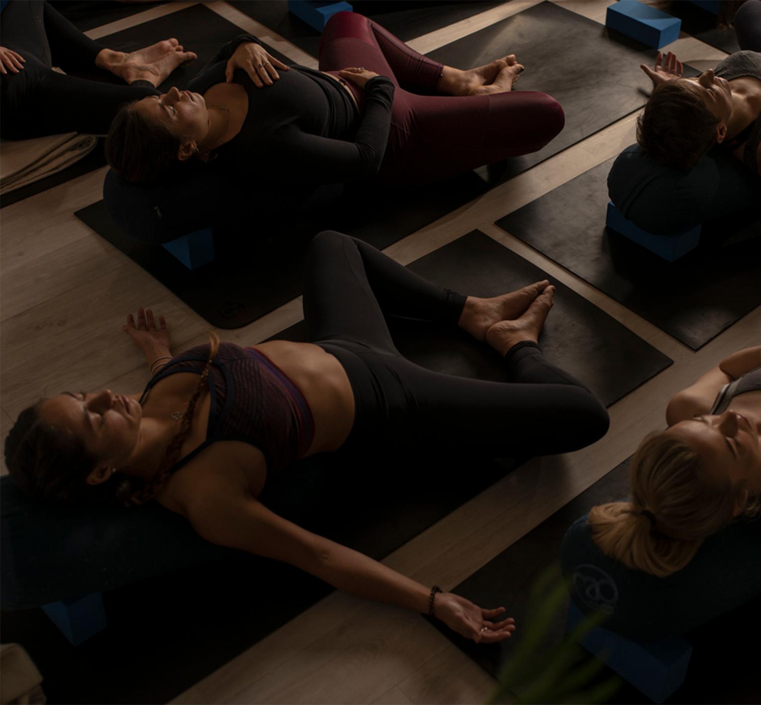 Yin Yoga Meditation Class Frame